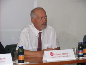 predsednik OO SD Edvard Krapež